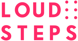 Loud Steps Logo